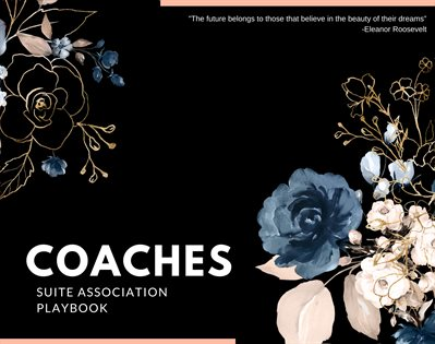 Coaches Suite Association Playbook