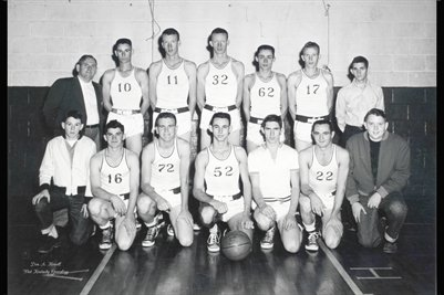1955 Sedalia Basketball Team, Graves County, Kentucky