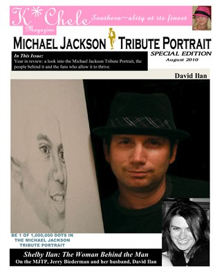 Michael Jackson Tribute Portrait Special Edition