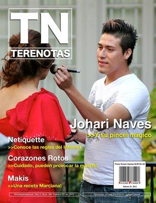 Johari Naves... Y su pincel magico