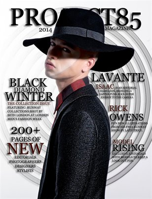 Project85 Magazine Black Diamond Winter Issue 2014