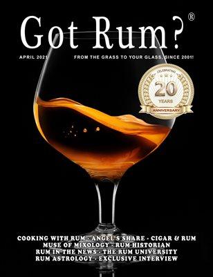 """Got Rum?"" April 2021"