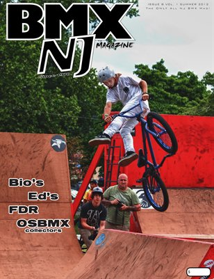 BMXNJ Magazine Issue 8 Summer - Early Fall 2012