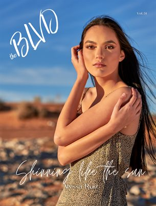 The BLVD Magazine Volume 51 Featuring  Alyssa Ruiz