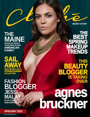 Cliché Magazine - April/May 2015 (Agnes Bruckner Cover)