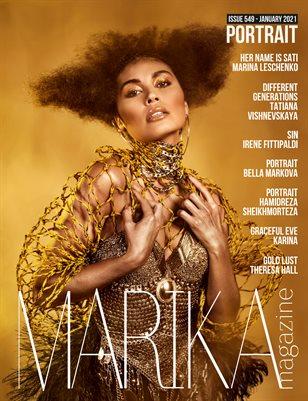 MARIKA MAGAZINE PORTRAIT (ISSUE 549 - January)