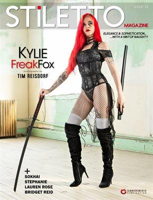 STiLETTO Magazine 13 Ft. Kylie Freak Fox
