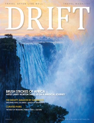 DRIFT Travel Magazine Spring 2021