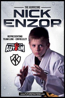 Nick Enzor Rain - Poster