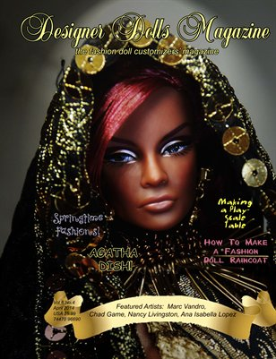 Designer Dolls Magazine - April 2014