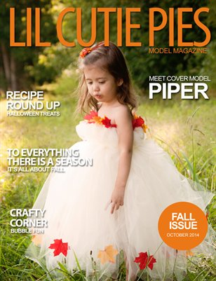 Lil' Cutie Pies Model Magazine Fall 2014 Issue