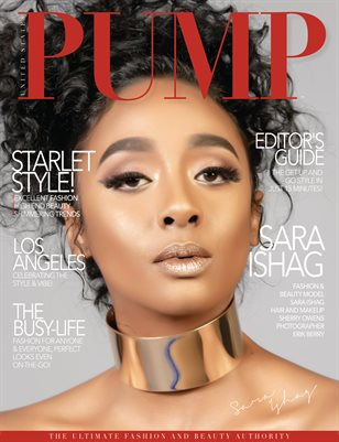 PUMP Magazine - Fashion & Beauty Couture - January 2019 - V6