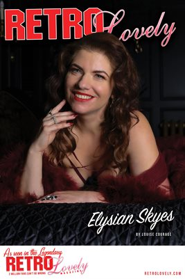 Elysian Skyes Cover Poster - Retro Lovely No.134