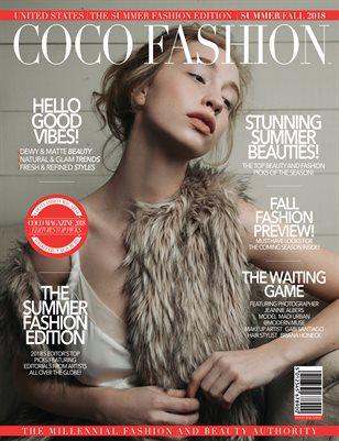 PUMP Magazine - The Summer Fashion Edition - September 2018 - Vol.4