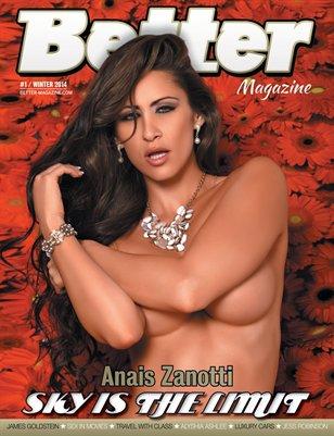 Better Magazine #1 cover 2