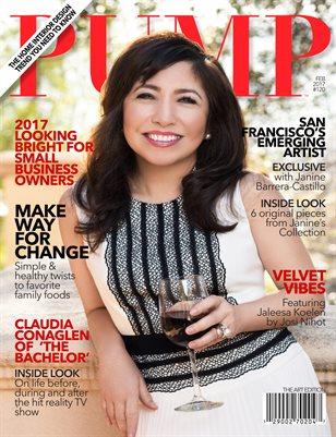 PUMP Fashion Lifestyle Magazine The Art Edition