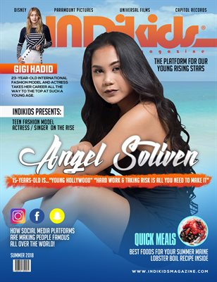 INDIKIDS 2018 SUMMER ISSUE ANGEL COVER