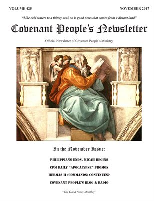 Covenant People's Newsletter #425