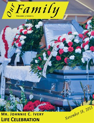 Volume 3 Issue 5 - Mr. Johnnie C. Ivery Life Celebration