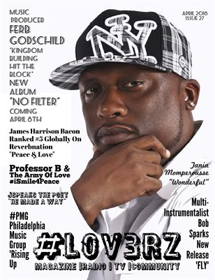 #LOV3RZ Independent Magazine April 2018