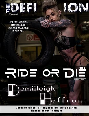 The Definition Magazine: Ride or Die vol4 Demiileigh Cover