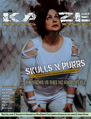 Kayze Magazine Issue 43 -Skulls N purrs- Open Theme