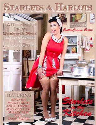 Starlets & Harlots Magazine November issue: Starlets in the Kitchen