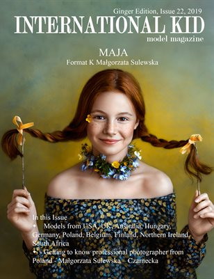 "International Kid Model Magazine Issue 22 ""Ginger Edition"""