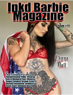 Inkd Barbie Magazine Issue #111 - Chyna Doll