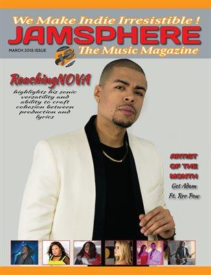 Jamsphere Indie Music Magazine March 2018