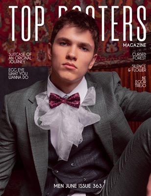 TOP POSTERS MAGAZINE- MEN JUNE (Vol 363)