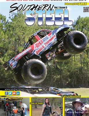 Southern Steel Motorcycle & Car Magazine February 2015