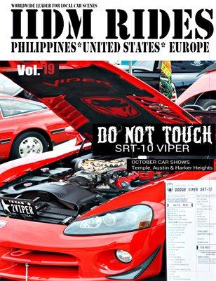 IIDM RIDES Magazine Vol 19