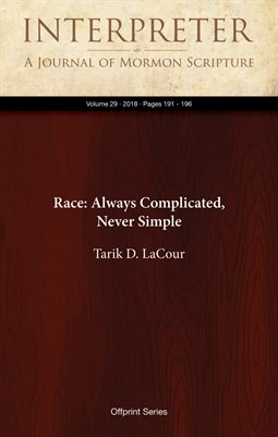Race: Always Complicated, Never Simple
