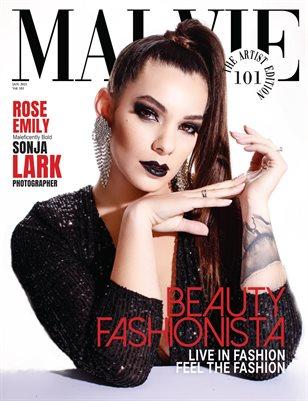 MALVIE Magazine The Artist Edition Vol 101 January 2021