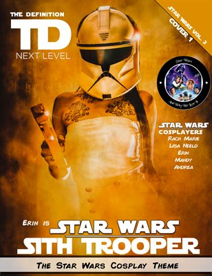 TDM Cosplay Erin Star Wars Vol.2  Cover1