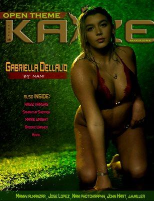 Kayze Magazine issue 19 (Gabriella Dellalio )
