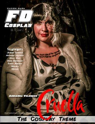 Fuzion Dark Adrianna VeldheerCosplay VOL 10 Cover2