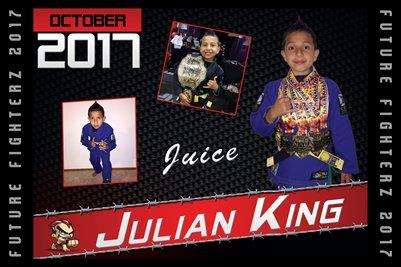 Julian King Cal Poster 2017