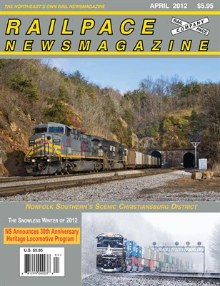 APRIL 2012 Railpace Newsmagazine