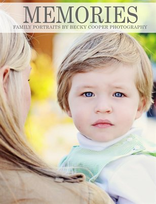 Becky Cooper Photography Family Pricing Magazine