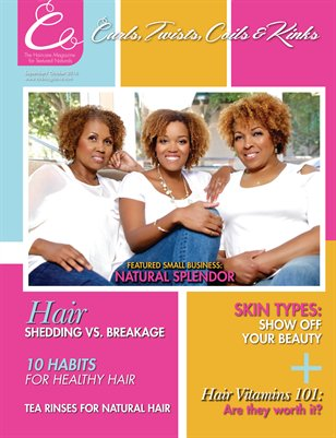 Curls, Twists, Coils & Kinks Magazine September/October 2016