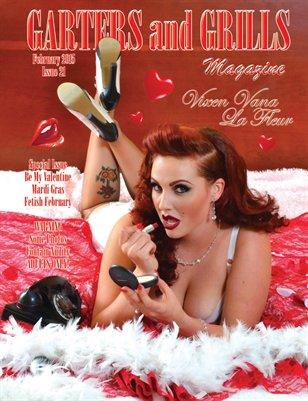 February 2015 Vixen Vana La Fleur Cover