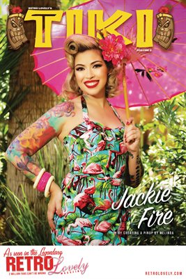 TIKI Volume 2 - Jackie Fire Cover Poster