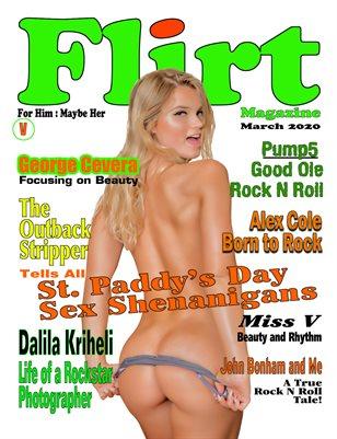Flirt Magazine Variant cover