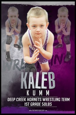 Kaleb Kumm DC #2 Poster
