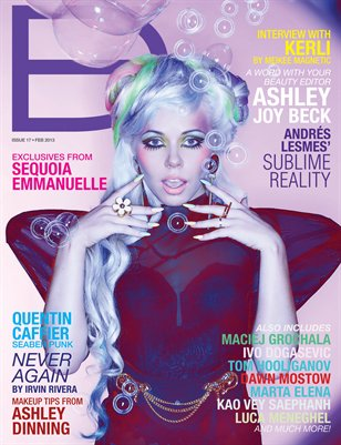 Dark Beauty Magazine - ISSUE 17 - Acid Pastels