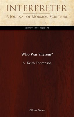 Who Was Sherem?