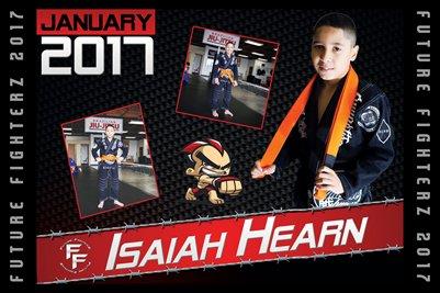Isaiah Hearn Cal Poster 2017