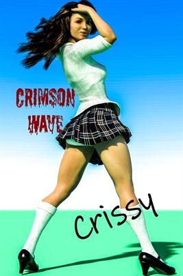 Crissy Poster Crimson Wave